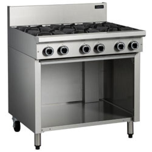 6 burner cooktop